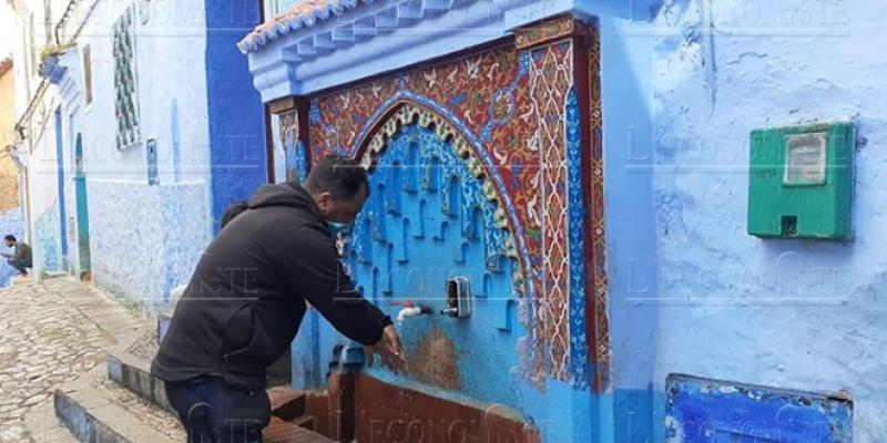 Chefchaouen installe des distributeurs de savon dans les fontaines