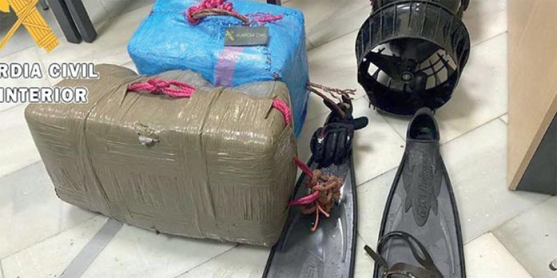 Sebta/Drogue: Après les drones, les hommes-grenouilles