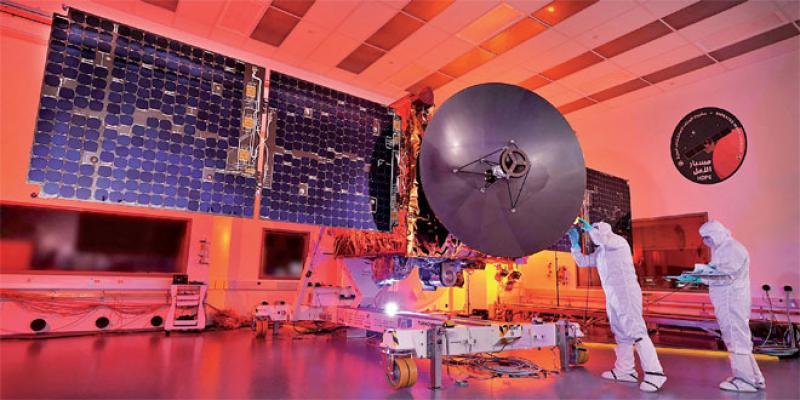 Première mission interplanétaire arabe sur Mars