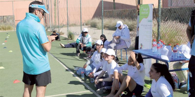 Une compétition sportive féminine pour renforcer l'élan de solidarité