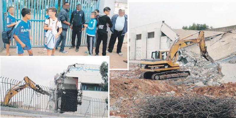Casa-Bernoussi: Des terrains de proximité à l'ex-stade Rachad