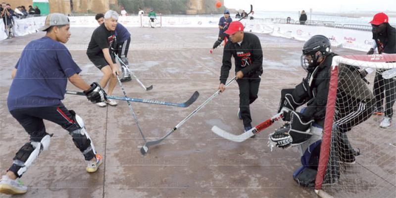 Le Street Hockey s'invite à Rabat