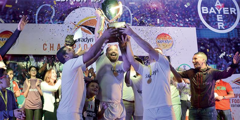 Eco-Médias remporte la Supradyn Cup