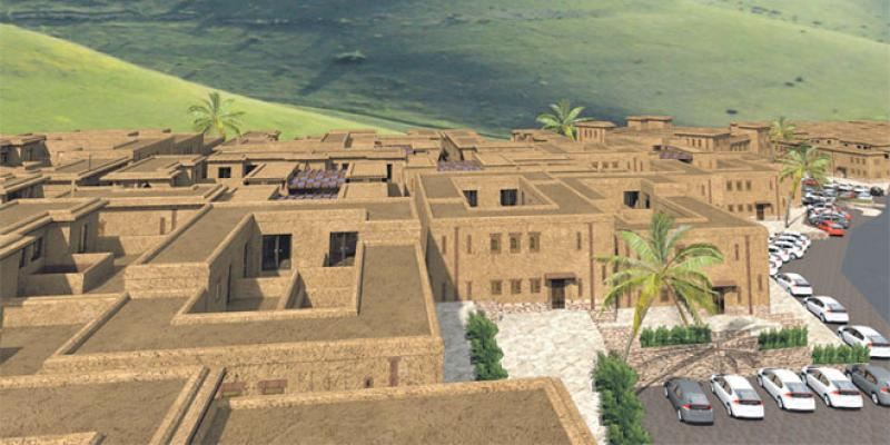 Immobilier/Taayouch City défie les modes de construction énergivores