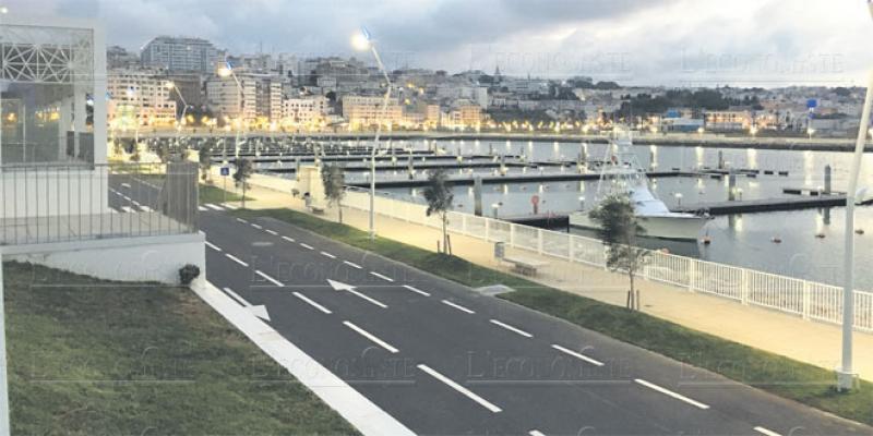 La marina de Tanger reçoit ses premiers visiteurs