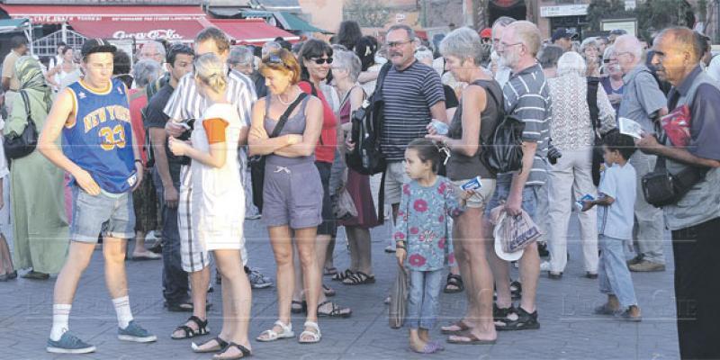 Tourisme: 8,7 millions de touristes à fin août