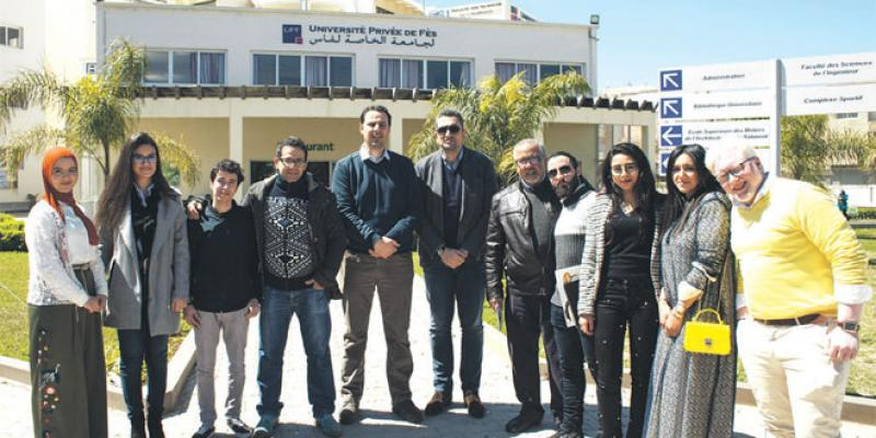 Université privée de Fès: 1er test d'immersion pour les étudiants