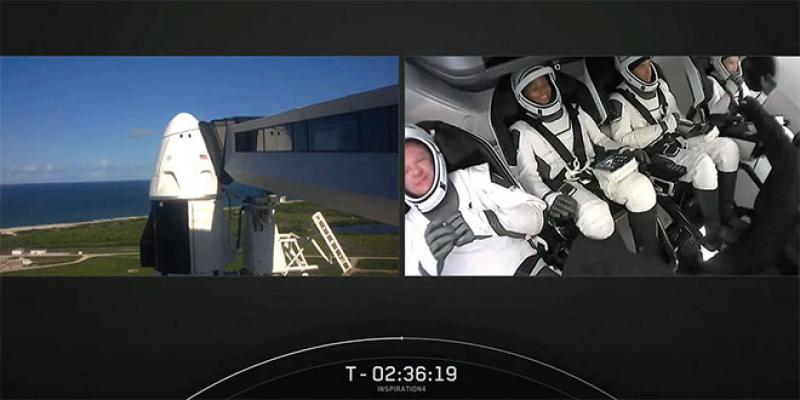 Vaisseau de SpaceX: «Y a-t-il des vaches sur la lune?»