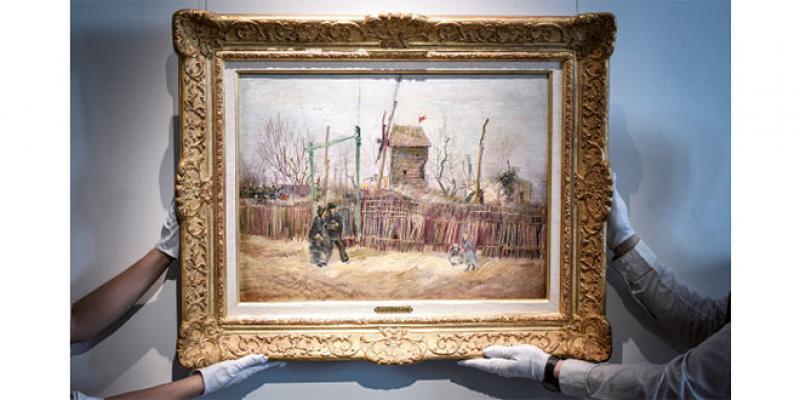 Un Van Gogh adjugé 13 millions d'euros, un record en France