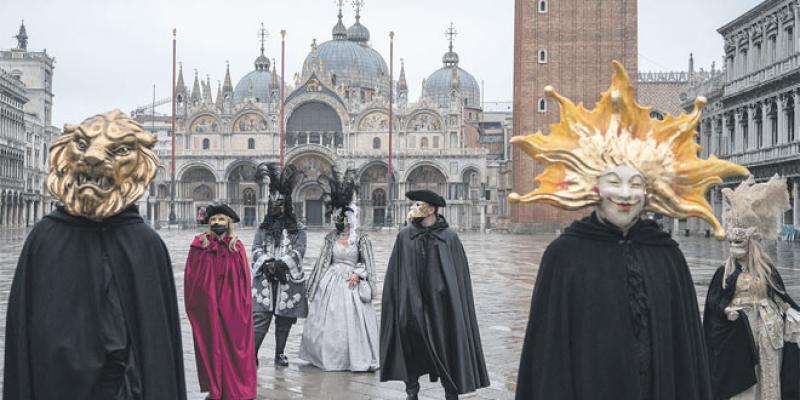 Le carnaval de Venise version Covid... sans touristes