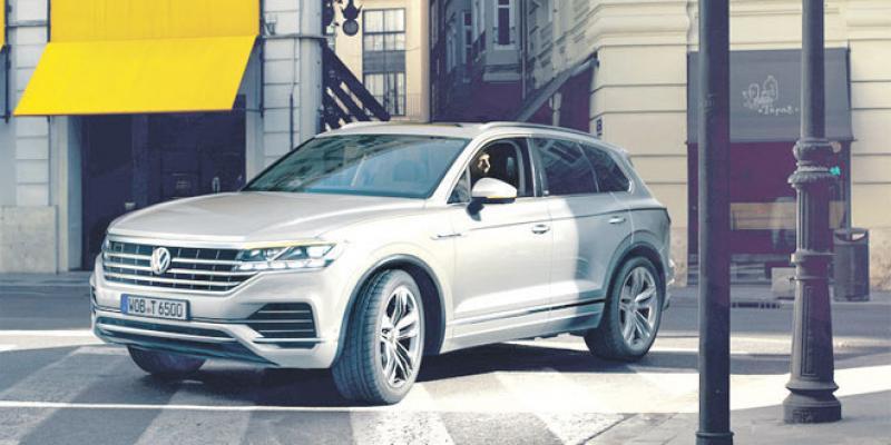 Volkswagen célèbre son millionième Touareg