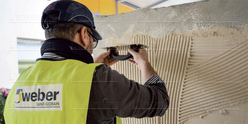 Matériaux de construction Weber réinvente le mortier au Maroc