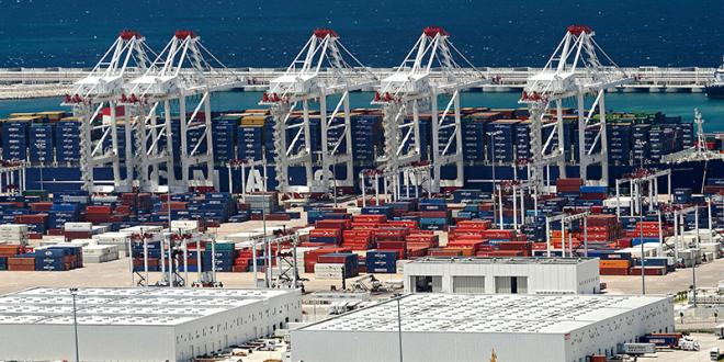 Trafic portuaire: Leger repli des exportations