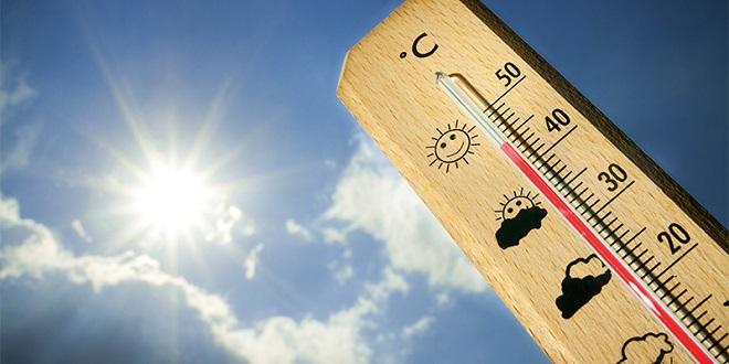 Météo : Les températures pour mardi