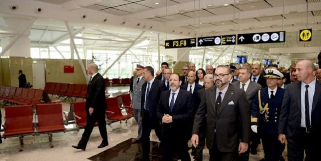 Aéroport Mohammed V : Le Roi inaugure le terminal 1