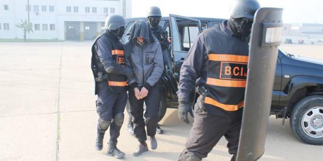 Le BCIJ arrête 4 terroristes présumés à Taza