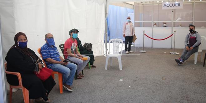 Tanger: Un hôpital de campagne pour les cas de Covid