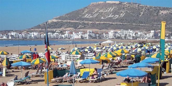 Agadir: Les nuitées touristiques poursuivent leur hausse