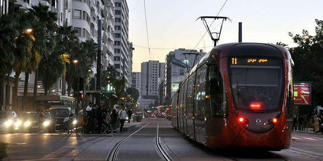 Tramway de Casa : Les tests démarrent sur la ligne 2