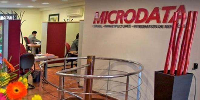 Microdata: Repli du C.A au 1er semestre