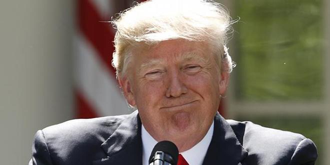 La cote de popularité de Trump en hausse