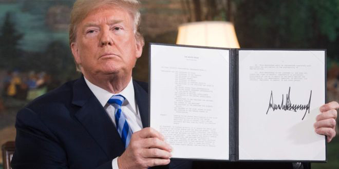 L'administration Trump rétablit officiellement les sanctions contre l'Iran