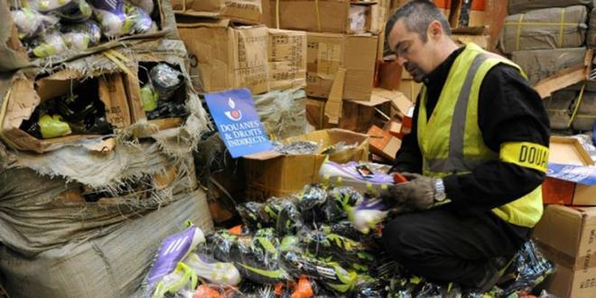 Ce que coûte de la contrefaçon à l'UE