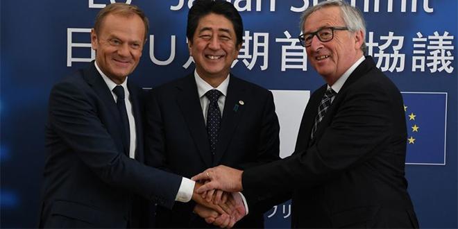 L'UE et le Japon signent un APE