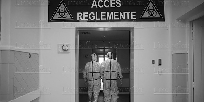 Covid-19: un hôpital de campagne à Agadir