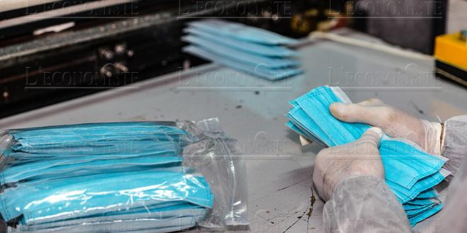 Tanger: La production de masques en accélération