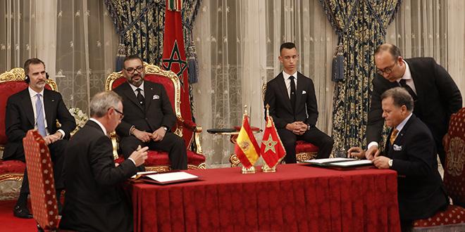 Maroc-Espagne : 11 accords signés