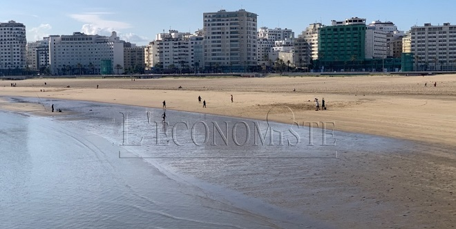 Tanger: La plage à nouveau ouverte