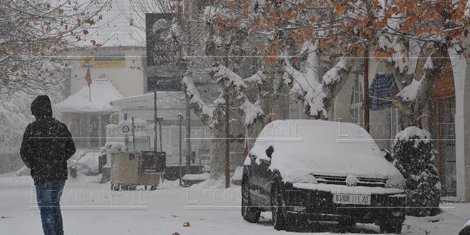 ALERTE METEO : Temps froid, chute de neige et fortes rafales de vents