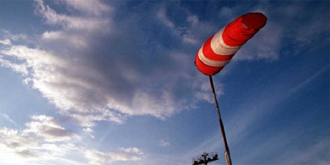 Météo: De fortes ravales de vent jusqu'à mardi