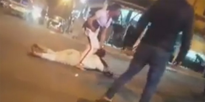 Agadir : Arrestation du mari qui a tailladé sa femme devant la foule