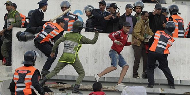 Foot: Le hooliganisme frappe encore